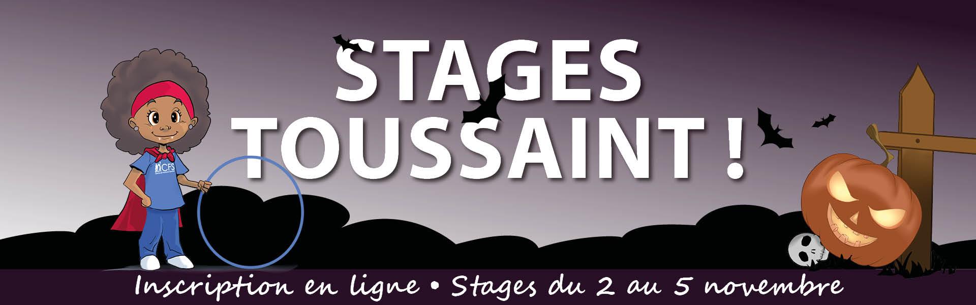 Stages Toussaint en ligne !