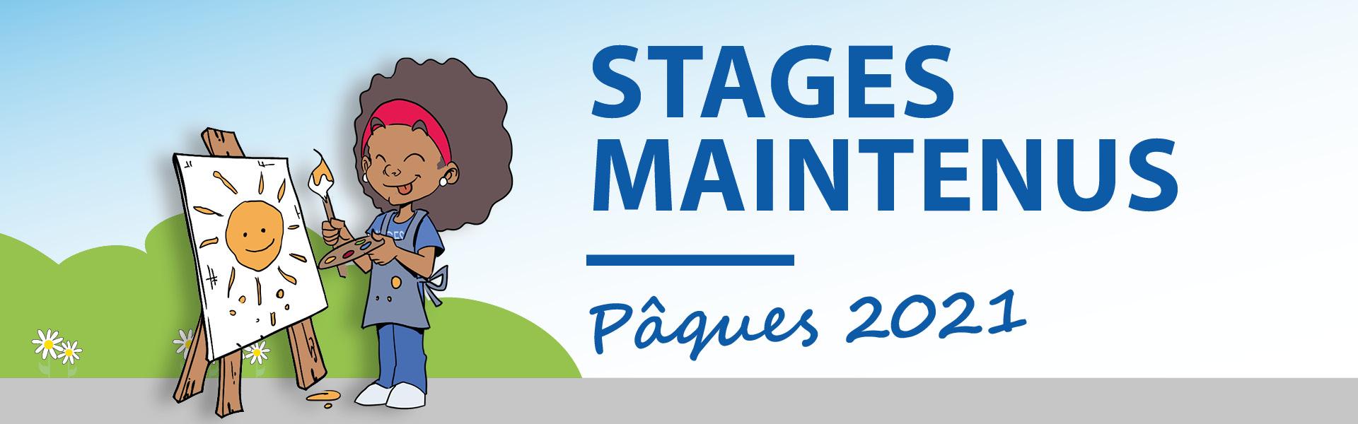 STAGES DE PAQUES MAINTENUS !